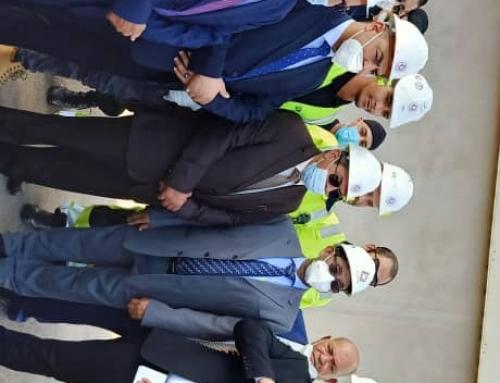 زيارة السيد حمزة آل سيد الشيخ الوزير المنتدب المكلف بالبيئة الصحراوية لولاية الأغواط يوم الأحد 11 أكتوبر 2020  Exemplaire